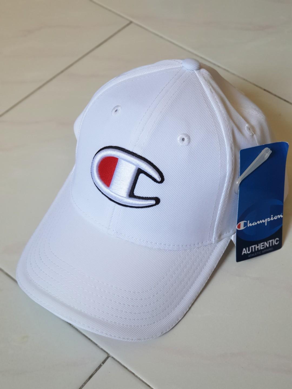 cd7c4f9251d1c 100% Authentic Champion Cap Navy Blue White