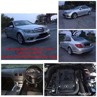 Rent & Buy / Sewa & Beli Mercedes C180 CGi Turbo