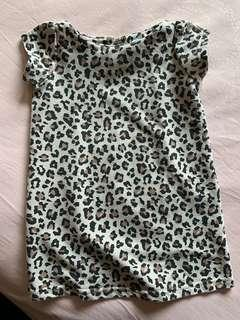 Dress leopard 1y anak