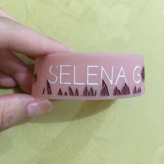 Unofficial Selena Gomez Wristband