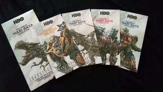 2015 HBO Transformers Raya Packet 4pc set