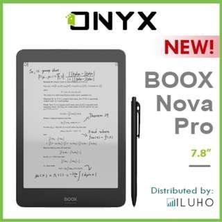 "🚚 [BNIB] ONYX BOOX Nova Pro 7.8"" E-ink Reader with Wacom Stylus + FREE Cover"