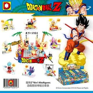 DLP™ 9088 Dragon Ball Z™ 8in1 Minifigures Game Arena Combine Set