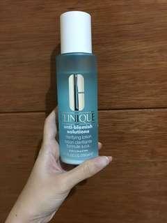 Clinique anti blemish solution