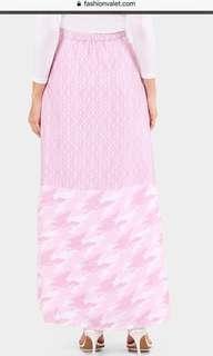lorra printed skirt in pink