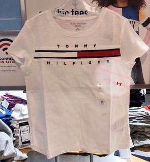 🚼《預》⭐️2019年春夏新款⭐️ Tommy Hilfiger 女童 小童大童純棉短袖T恤 多款可選
