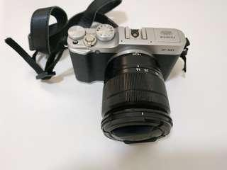 Fujifilm X-M1 Camera with lens, battery, 32G SD Card, charger and bag