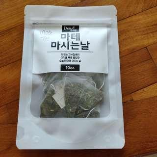 WELLNESS: KOREA MATE TEA DRINK (BRAND NEW)