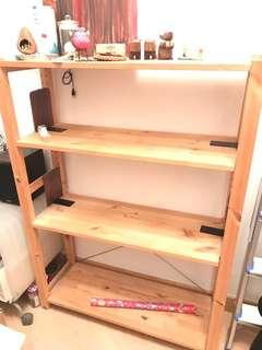 IKEA book shelf 書架 90x124cm