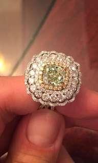 Krystle Hung洪婕玓:87萬黃鑽全鑽戒指,待議