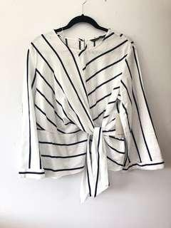 Brand New Zara Stripe Top