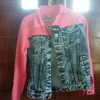 Jaket Jeans Two Tone colour