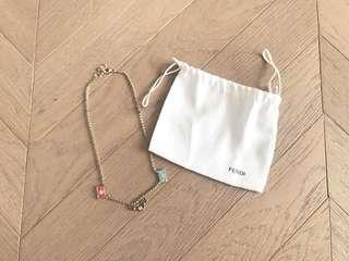 Fendi handbag charms necklace 手袋造型吊飾頸鏈
