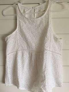 This Is April Lace Top