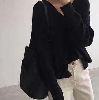 🚚 黑色單肩包/側背包