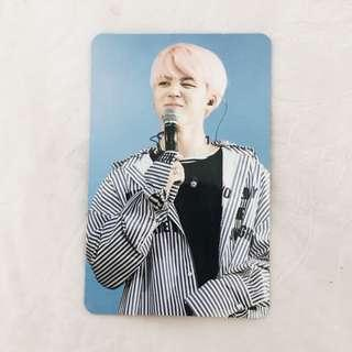 bts jimin wings tour dvd photocard