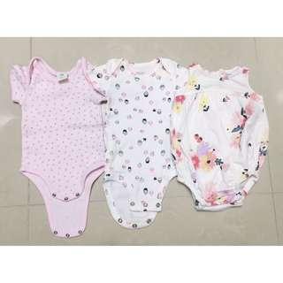 初生嬰兒夾衣 連身衣 Newborn Baby Bodysuit Jumpsuit