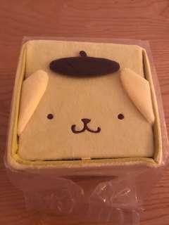 全新布甸狗毛料儲物盒