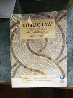 Public Law : Text, Cases, and Materials