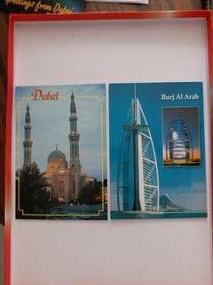 全新2000年杜拜明信片一套10張