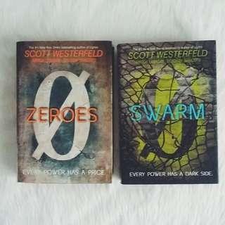 HB SET: Zeroes + Swarm by Scott Westerfeld