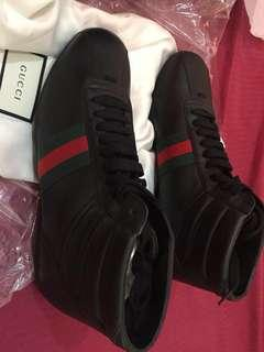 Gucci 'Bambi' Leather High Top Size 9.5