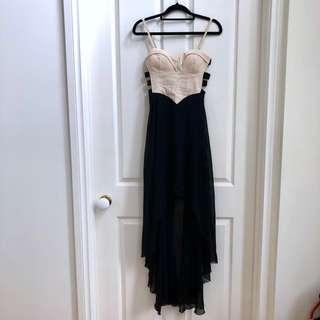 (Size 6-8) Asymmetrical Dress with Side Cutout Detailing #swapAU