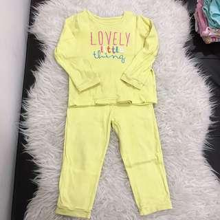 Pyjamas motheecare set baju tidur budak bonds cottonon gap