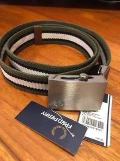 Fred Perry belt 100%新
