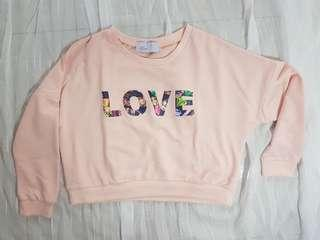 [REPRICED] Pink Cropped Sweater