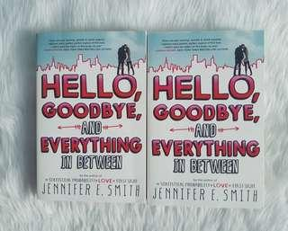 Hello Goodbye and Everything in Between by Jennifer E Smith