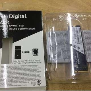 WD SSD 250GB NVME M.2 2280 PCIe Gen3固態硬碟(黑標)