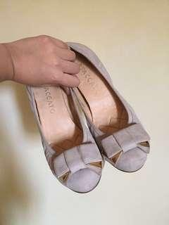 Stacatto Gray Doll Shoes
