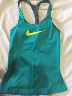 Nike Aqua Green Dri-Fit Tank