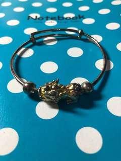 🚚 純銀貔貅手環