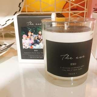 LILIN EXO SCENTED CANDLE THE EVE SMTOWN GIFT OFFICIAL MERCH