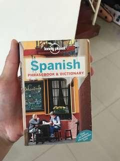 Spanish Phrase and Dictionary