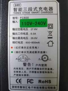 24v 5a lithium charger