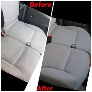 Interior Fabric Cleaning