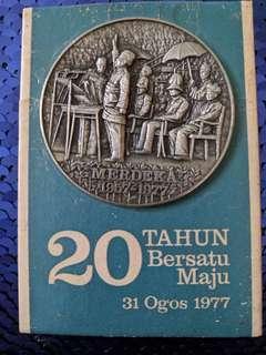 Pewter Merdeka 1977