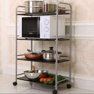 New 4tier Carbon Steel Storage Trolley