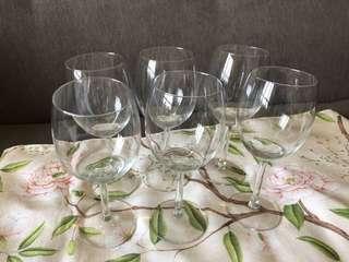 Wine glass x6