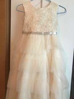 🚚 Bloom B formal dress champagne colored almost new (used once as flower girl)