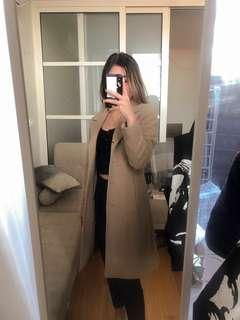 Beige Winter Coat
