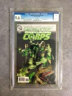 🚚 DC Green Lantern Corps #47 (CGC 9.6) Variant Cover
