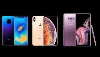 BUY BACK IPHONE XS HUAWEI SAMSUNG BRAND NEW ONLY