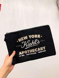 Kiehl's makeup bag