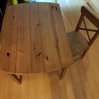 IKEA - Toddler Table and Chair - USED Condition