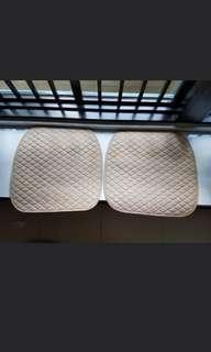 Car seat protector cushion
