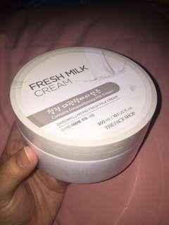 The Face Shop Body Cream Milk